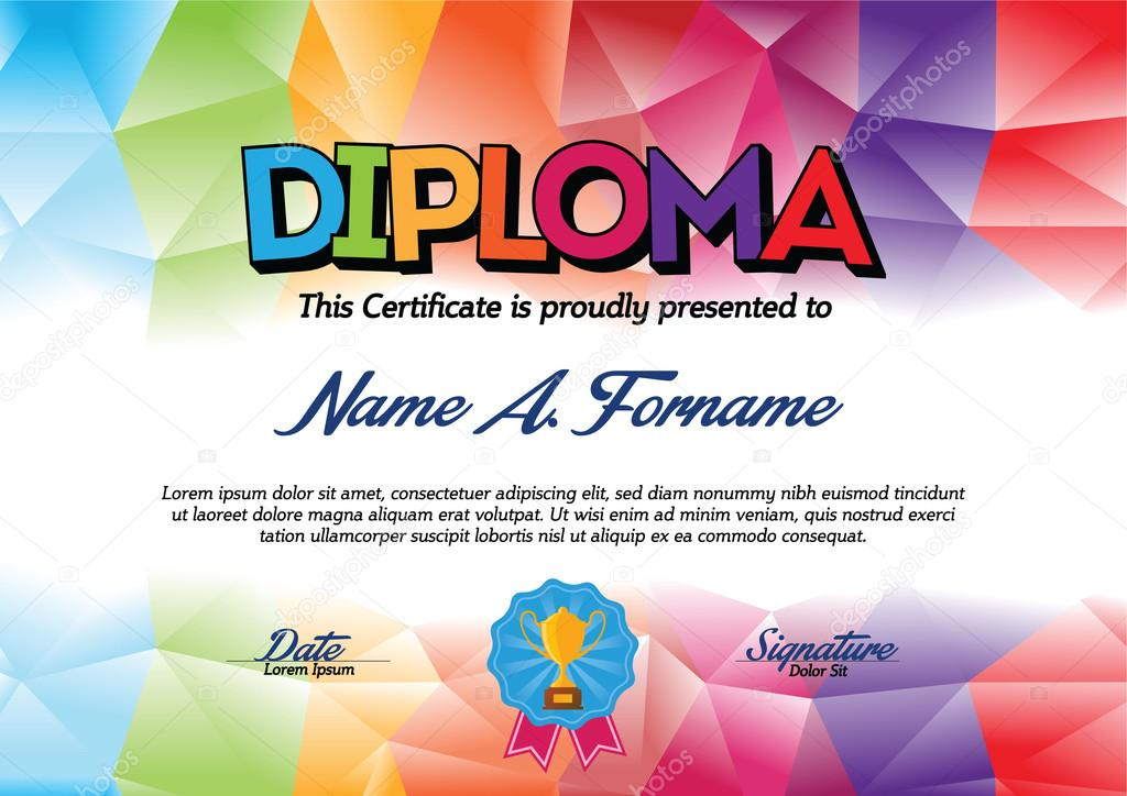 depositphotos 101688002-stock-illustration-diploma-certificate-template-with-colorful