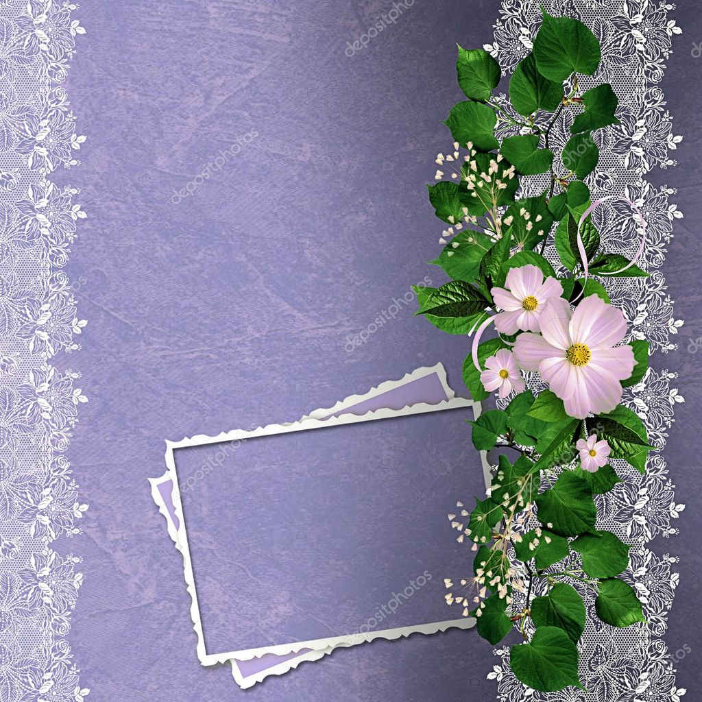 depositphotos 18952919-stock-photo-lavender-background-with-floral-border