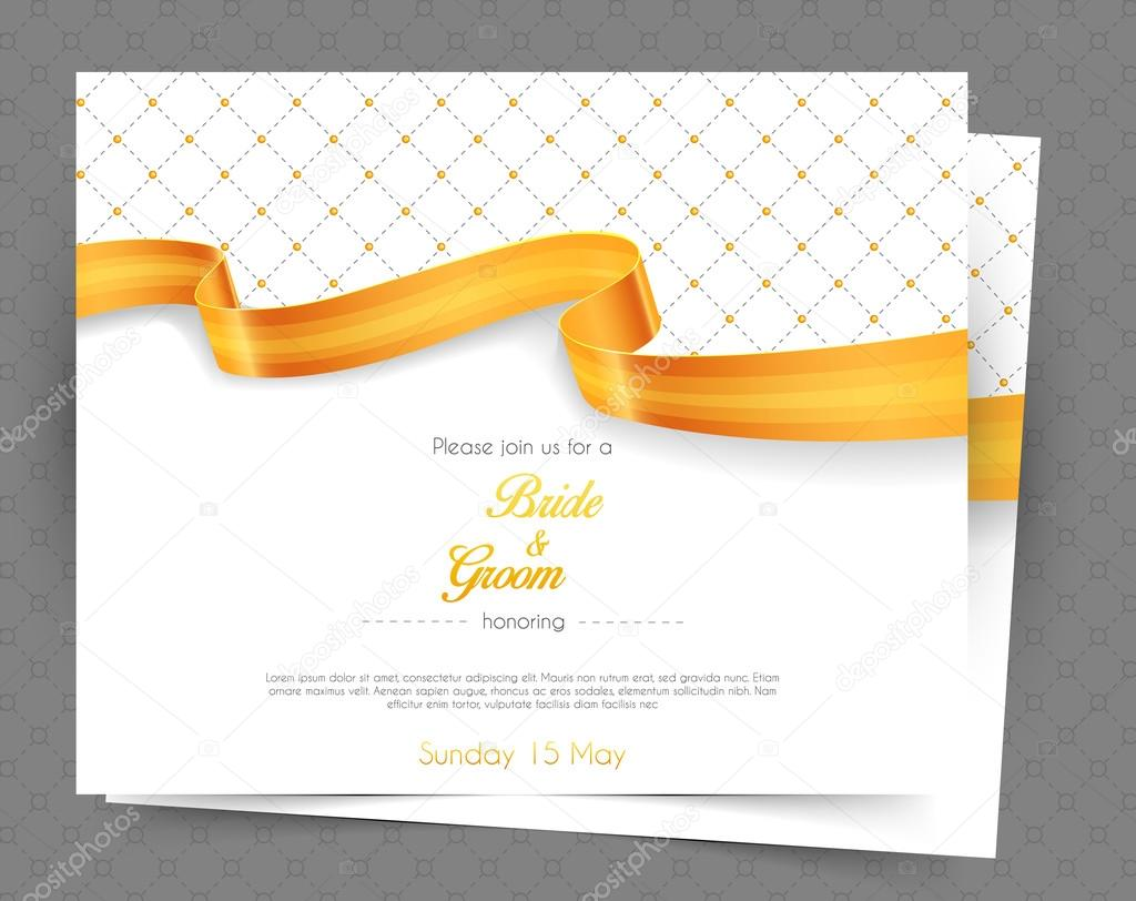 depositphotos 55298779-stock-illustration-wedding-invitation