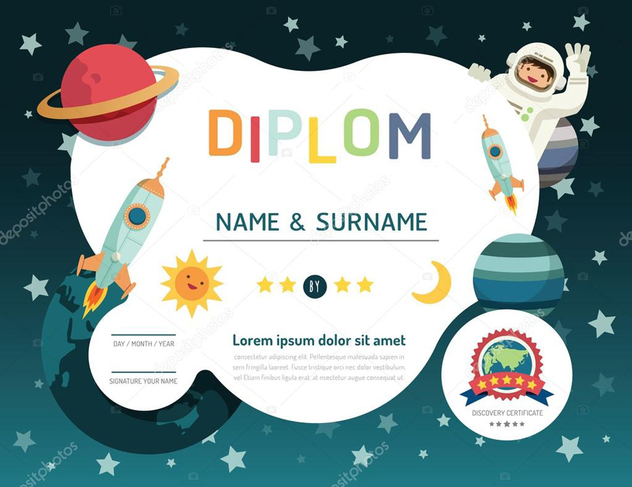 depositphotos 77883062-stock-illustration-certificate-kids-diploma