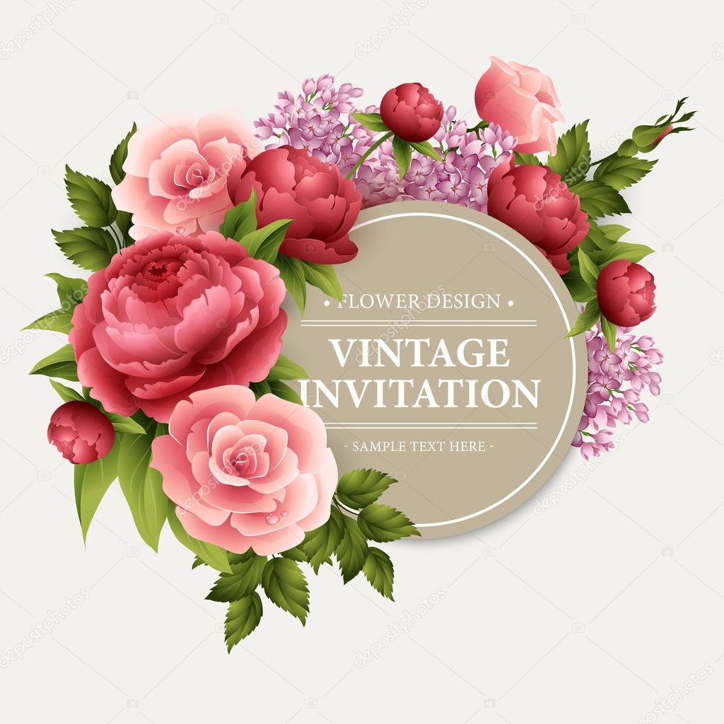 depositphotos 95301904-stock-illustration-vintage-greeting-card-with-blooming